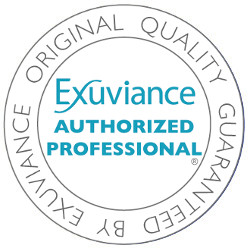 exuviance authorized logo